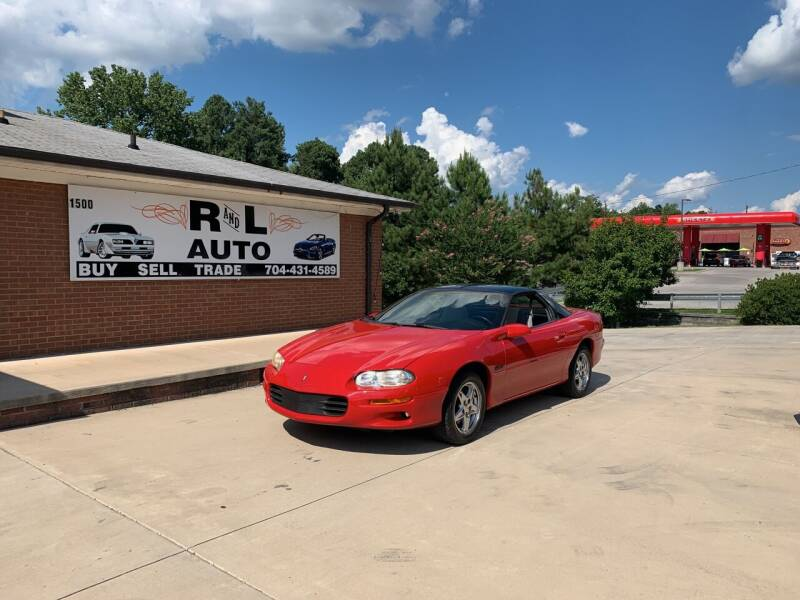 1999 Chevrolet Camaro for sale at R & L Autos in Salisbury NC
