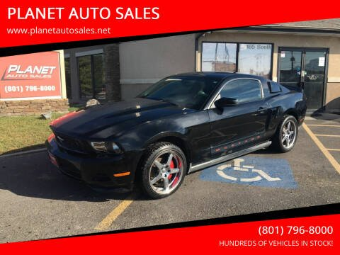 2010 Ford Mustang for sale at PLANET AUTO SALES in Lindon UT