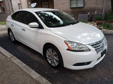 2013 Nissan Sentra for sale at RICKY'S AUTOPLEX in San Antonio TX