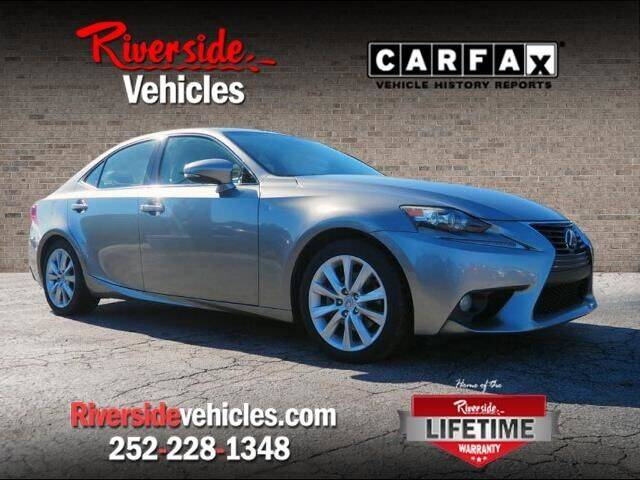 2014 Lexus IS 250 for sale at Riverside Mitsubishi(New Bern Auto Mart) in New Bern NC