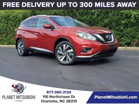 2015 Nissan Murano for sale at Planet Automotive Group in Charlotte NC