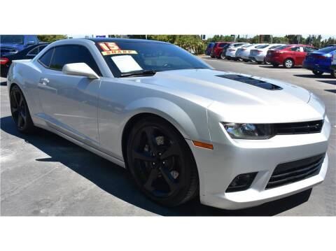 2015 Chevrolet Camaro for sale at ATWATER AUTO WORLD in Atwater CA