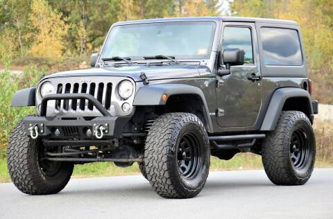 2017 Jeep Wrangler for sale at Miers Motorsports in Hampstead NH