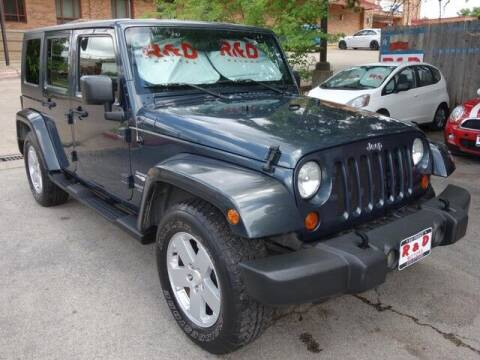 2007 Jeep Wrangler Unlimited for sale at R & D Motors in Austin TX
