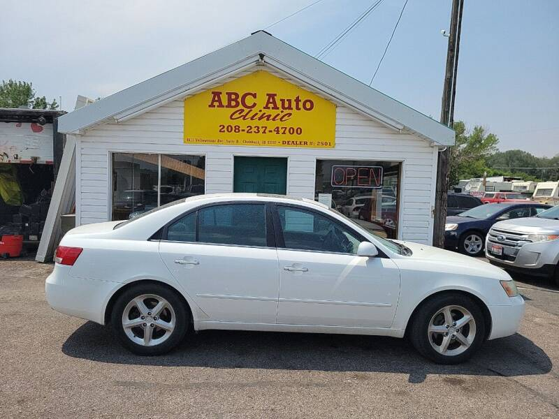 2006 Hyundai Sonata for sale at ABC AUTO CLINIC - Chubbuck in Chubbuck ID