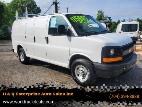 2013 Chevrolet Express Cargo for sale at H & H Enterprise Auto Sales Inc in Charlotte NC