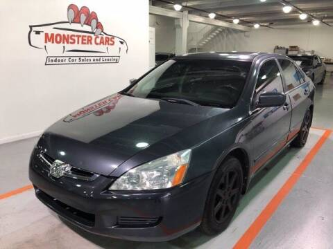 2003 Honda Accord for sale at Monster Cars in Pompano Beach FL