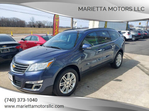2014 Chevrolet Traverse for sale at MARIETTA MOTORS LLC in Marietta OH