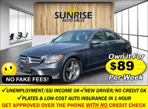 2016 Mercedes-Benz C-Class for sale at AUTOFYND in Elmont NY