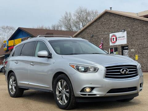 2013 Infiniti JX35 for sale at Big Man Motors in Farmington MN