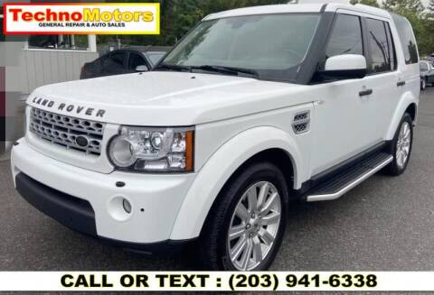 2013 Land Rover LR4 for sale at Techno Motors in Danbury CT