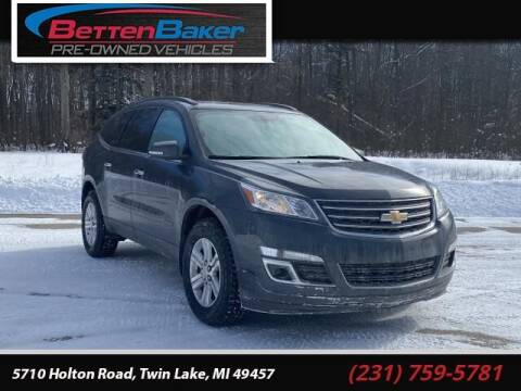 2013 Chevrolet Traverse for sale at Betten Baker Preowned Center in Twin Lake MI