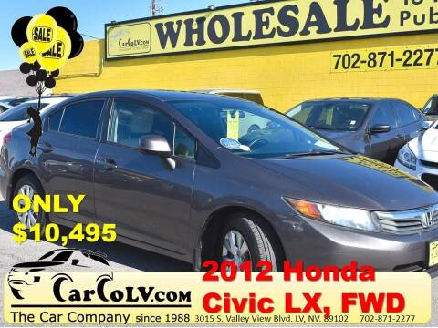 2012 Honda Civic for sale at The Car Company in Las Vegas NV