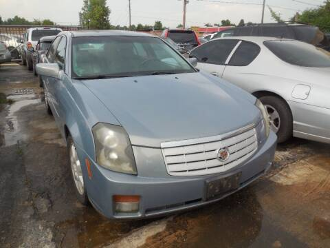 2007 Cadillac CTS for sale at SCOTT HARRISON MOTOR CO in Houston TX