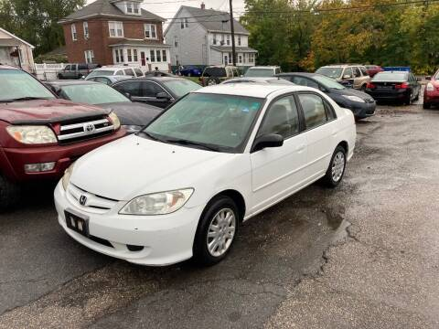 2004 Honda Civic for sale at ENFIELD STREET AUTO SALES in Enfield CT