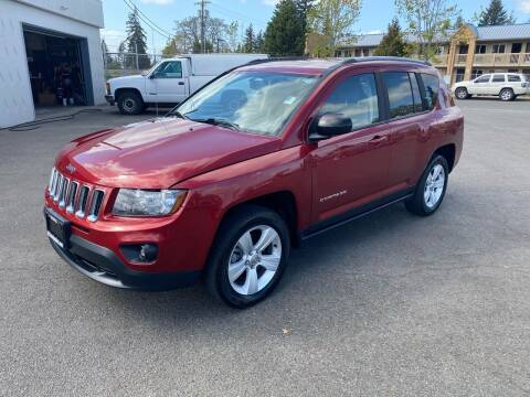 2016 Jeep Compass for sale at Vista Auto Sales in Lakewood WA