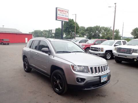 2016 Jeep Compass for sale at Marty's Auto Sales in Savage MN