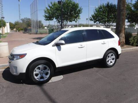 2012 Ford Edge for sale at J & E Auto Sales in Phoenix AZ