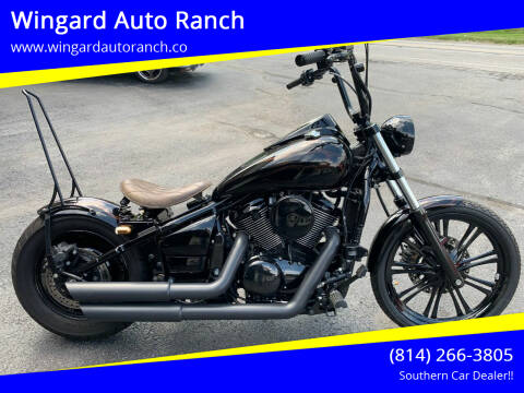 2010 Kawasaki Vulcan 900 Classic LT for sale at Wingard Auto Ranch in Elton PA