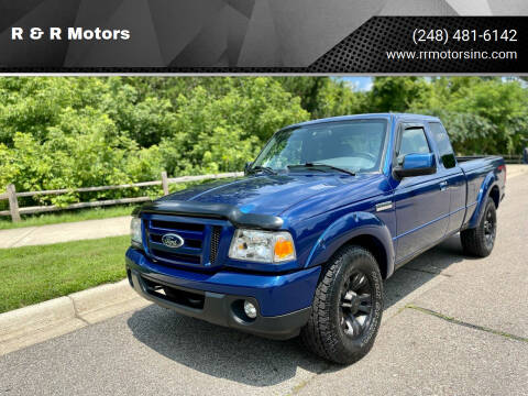 2008 Ford Ranger for sale at R & R Motors in Waterford MI
