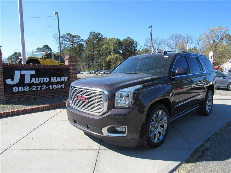 2015 GMC Yukon for sale at J T Auto Group in Sanford NC