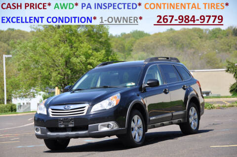 2012 Subaru Outback for sale at T CAR CARE INC in Philadelphia PA