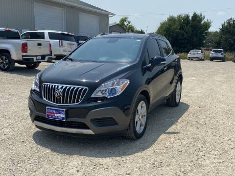 2016 Buick Encore for sale at Becker Autos & Trailers in Beloit KS