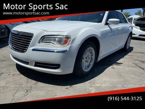 2013 Chrysler 300 for sale at Motor Sports Sac in Sacramento CA