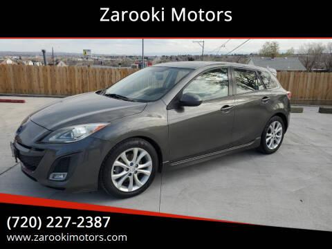 2011 Mazda MAZDA3 for sale at Zarooki Motors in Englewood CO