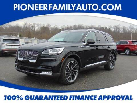 2021 Lincoln Aviator for sale at Pioneer Family auto in Marietta OH