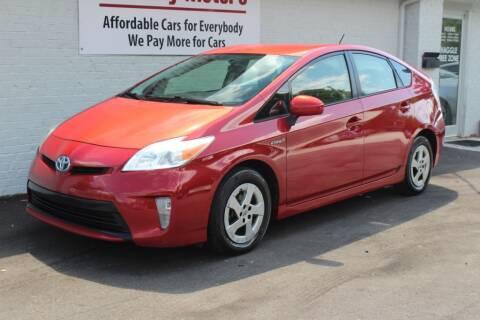 2012 Toyota Prius for sale at Oak City Motors in Garner NC