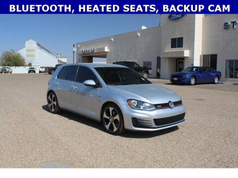 2016 Volkswagen Golf GTI for sale at STANLEY FORD ANDREWS in Andrews TX