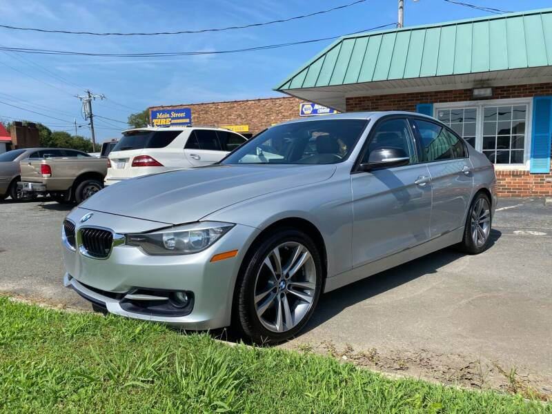 2014 BMW 3 Series for sale at Main Street Auto LLC in King NC
