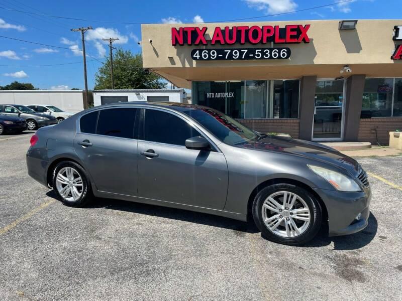 2012 Infiniti G37 Sedan for sale at NTX Autoplex in Garland TX