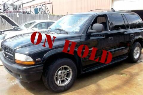 2000 Dodge Durango for sale at East Coast Auto Source Inc. in Bedford VA