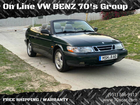 1998 Saab 900 for sale at On Line VW BENZ 70's Group in Warehouse CA