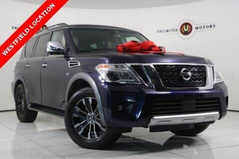 2017 Nissan Armada for sale at INDY'S UNLIMITED MOTORS - UNLIMITED MOTORS in Westfield IN