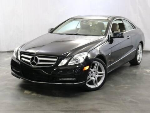 2012 Mercedes-Benz E-Class for sale at United Auto Exchange in Addison IL