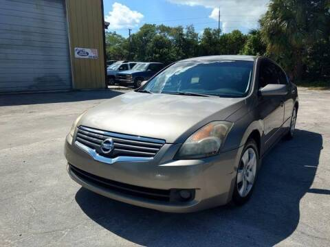2007 Nissan Altima for sale at Autos by Tom in Largo FL