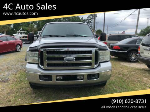 2005 Ford F-250 Super Duty for sale at 4C Auto Sales in Wilmington NC