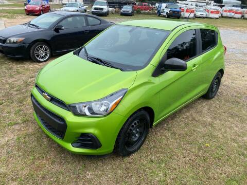 2016 Chevrolet Spark for sale at Nash's Auto Sales Used Car Dealer in Milton FL