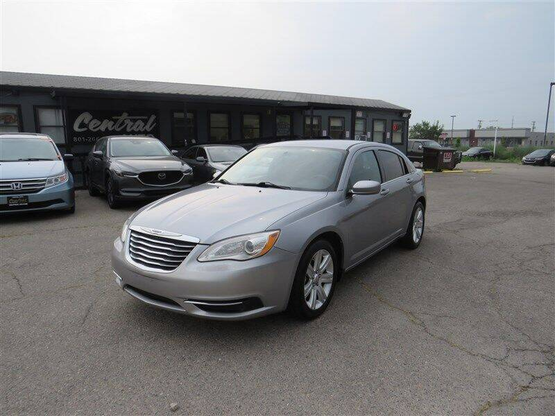 2013 Chrysler 200 for sale at Central Auto in South Salt Lake UT