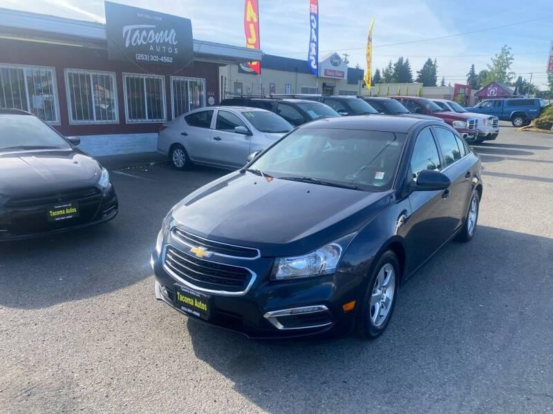 2015 Chevrolet Cruze for sale at Tacoma Autos LLC in Tacoma WA