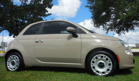 2012 FIAT 500 for sale at Performance Autos of Southwest Florida in Fort Myers FL