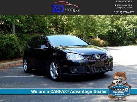 2009 Volkswagen GTI for sale at Zed Motors in Raleigh NC