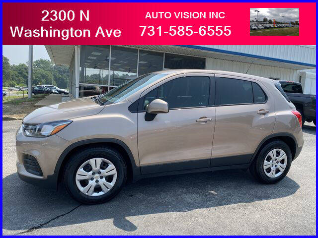 2018 Chevrolet Trax for sale at Auto Vision Inc. in Brownsville TN