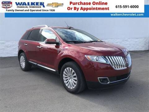 2014 Lincoln MKX for sale at WALKER CHEVROLET in Franklin TN