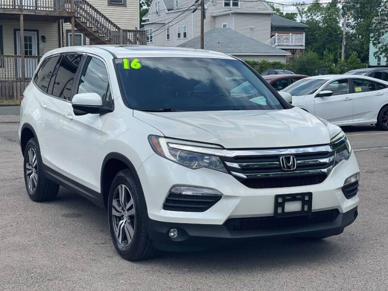 2016 Honda Pilot for sale at Tonny's Auto Sales Inc. in Brockton MA