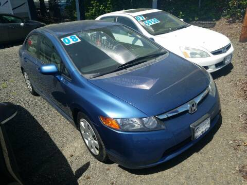 2008 Honda Civic for sale at Universal Auto INC in Salem OR