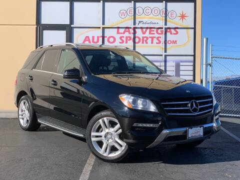 2014 Mercedes-Benz M-Class for sale at Las Vegas Auto Sports in Las Vegas NV